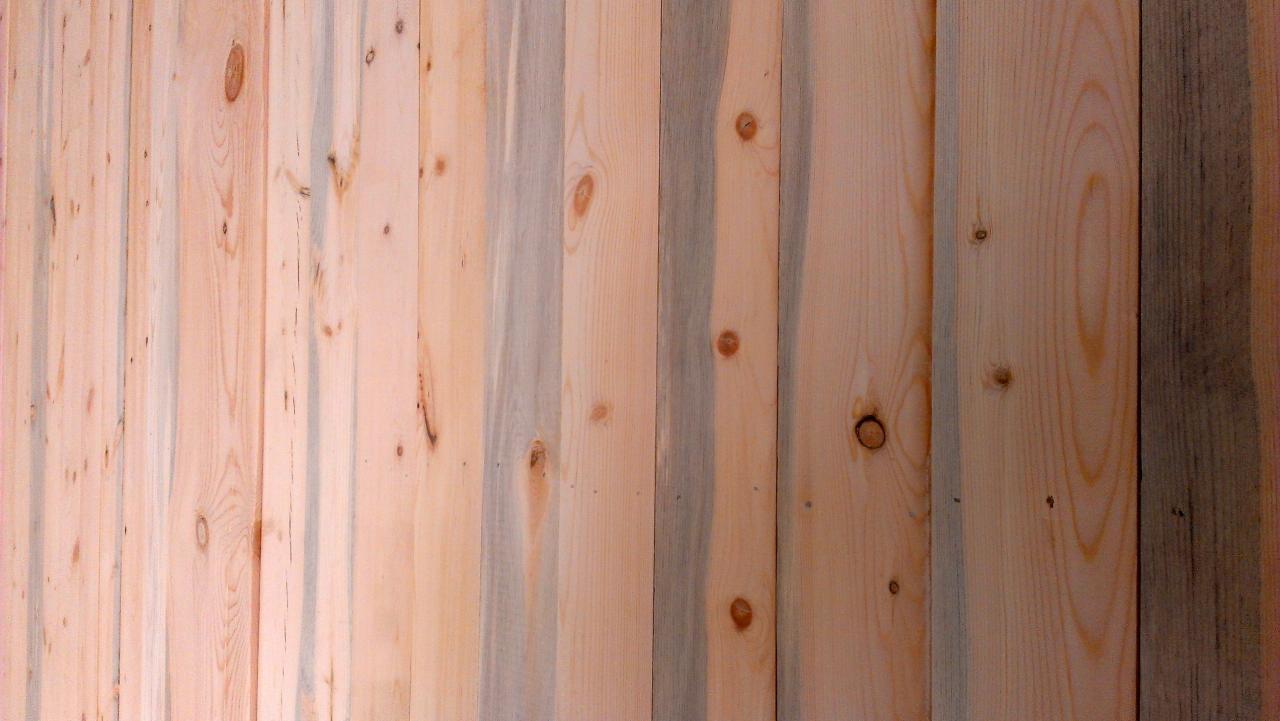Beetle kill panelling